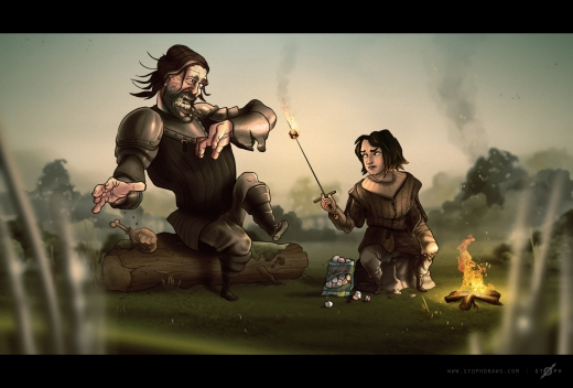 Game of Thrones - Arya & The Hound